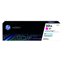 HP 201A (Yield: 1,400 Pages) Magenta Toner Cartridge