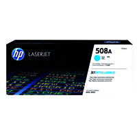 HP 508A (Yield: 5,000 Pages) Cyan Toner Cartridge