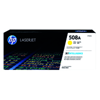 HP 508A (Yield: 5,000 Pages) Yellow Toner Cartridge