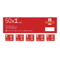 Royal Mail Large Letter First Class Stamps Bulk Pack 1