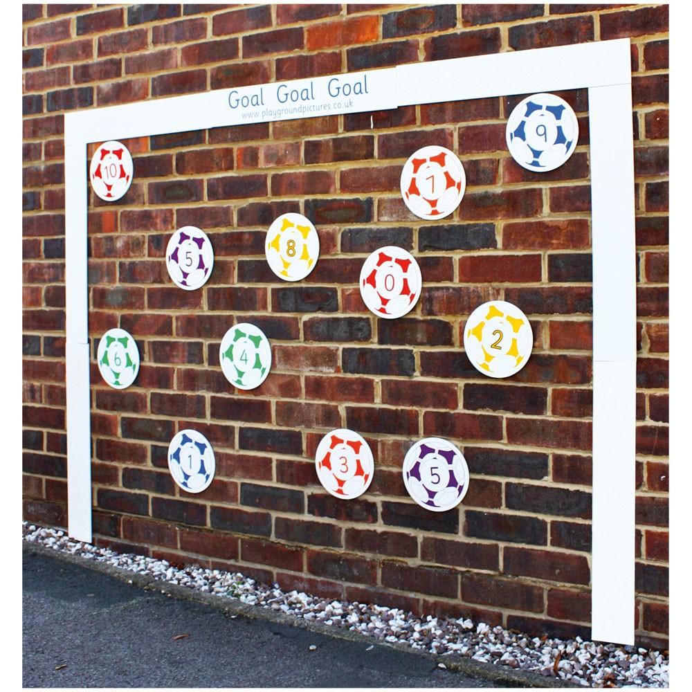 Goal Outdoor Learning Board