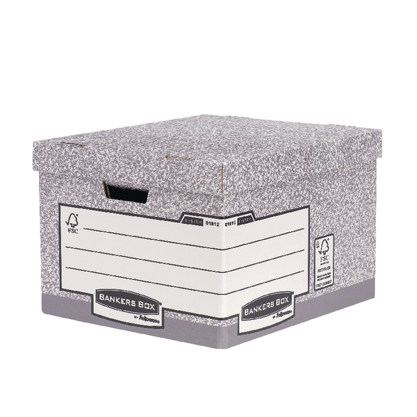 Fellowes H/Duty Bankers Box Large BOGOF