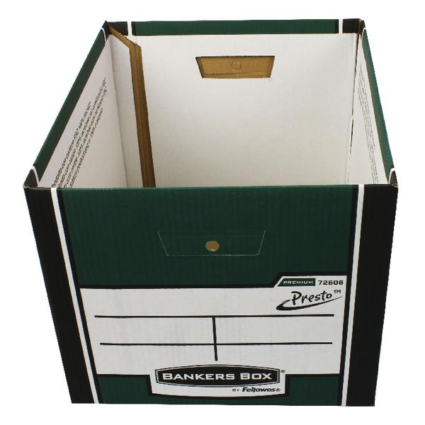 Fellowes Grn/Wht Presto Store Box BOGOF