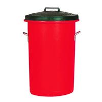 FD Bin/Lid/Handles 85 Litre Red 311969