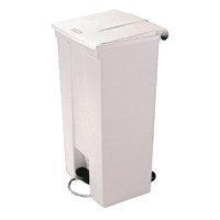 FD 68L Step-On Container White 324296