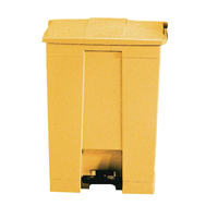 FD 68L Step-On Container Yellow 324297