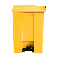 FD 30.5L Step-On Container Yellow 324301