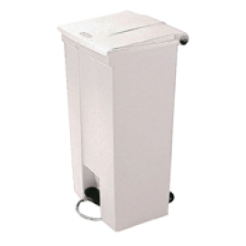 FD 45.5L Step-On Container White 324304