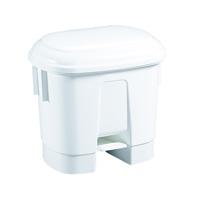 FD 30 Litre White Plastic Bin 348020