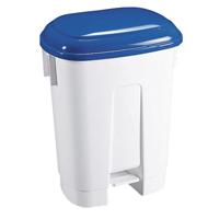 FD 30 L Plastic Bin White/Blue 348022