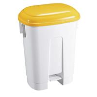 FD 30 L Plastic Bin White/Yllw 348023