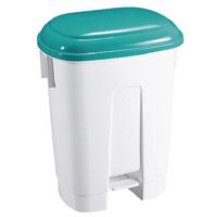 FD 30 L Plastic Bin White/Green 348024