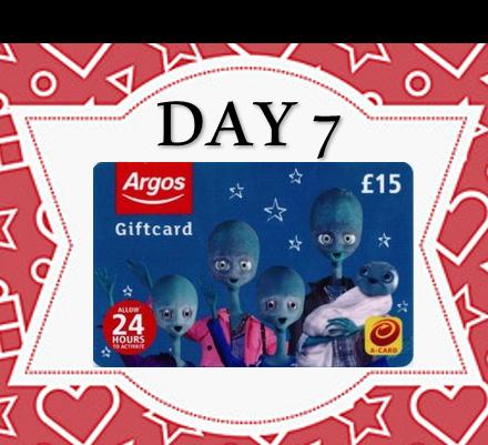 12 Days of Xmas - £15 ARGOS VOUCHER