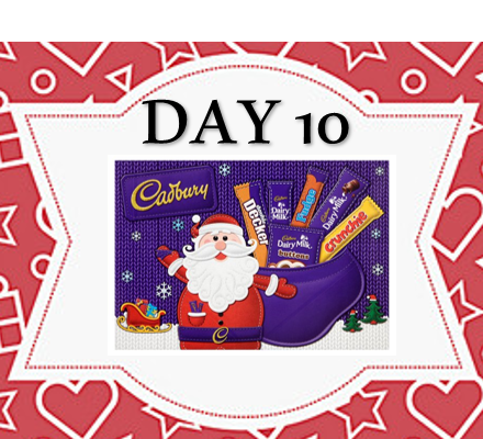12 Days of Xmas - Spend £50, Receive Free Selection Box!!