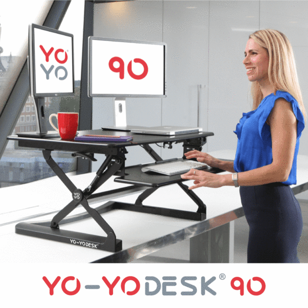 YO-YO Desk 90 Black