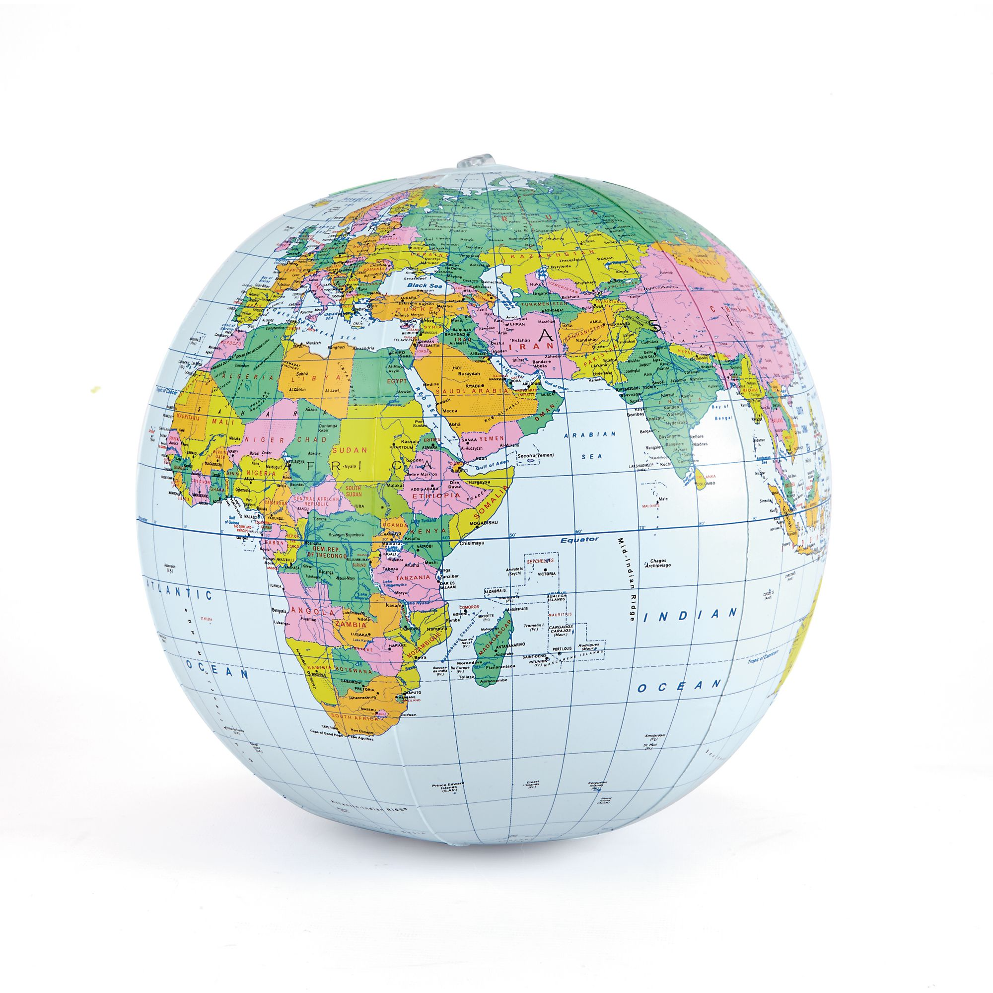 400mm Political Inflatable Globe