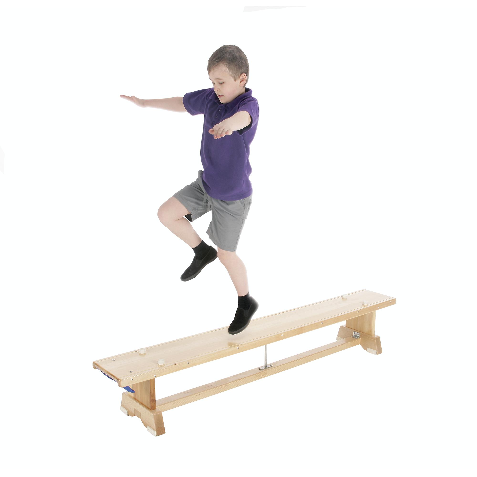 Balance Bench 1.83m Hooks One End