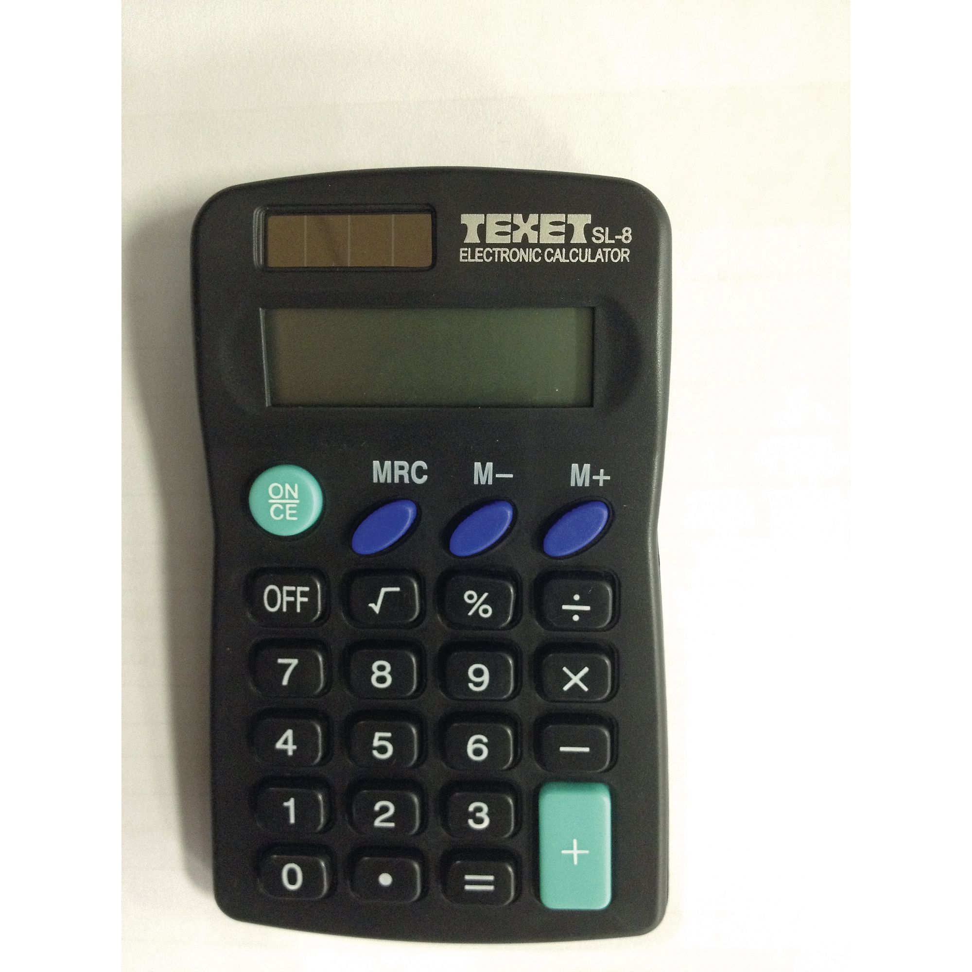 Texet Sl8 Calculator