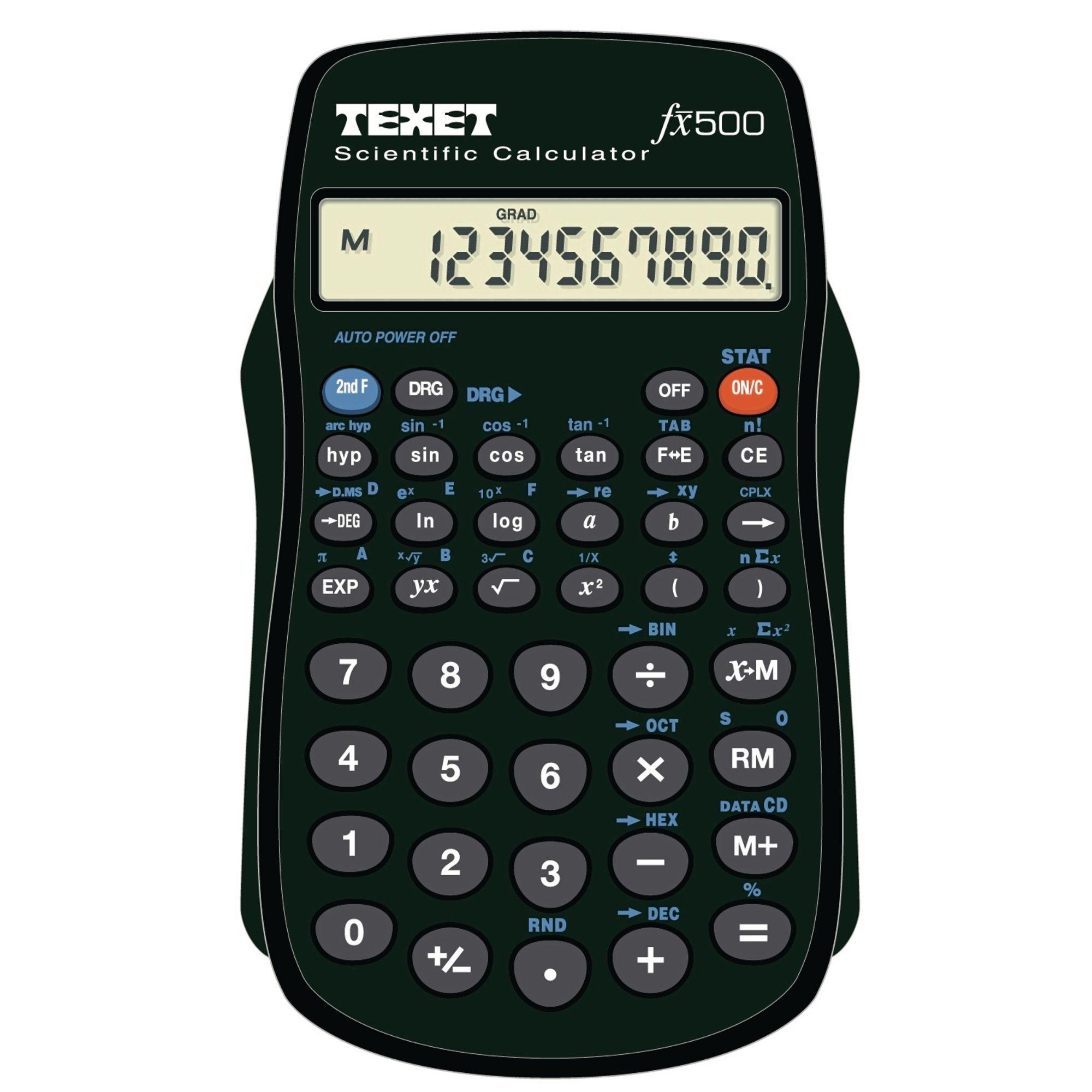 Texet Fx500 Calculator