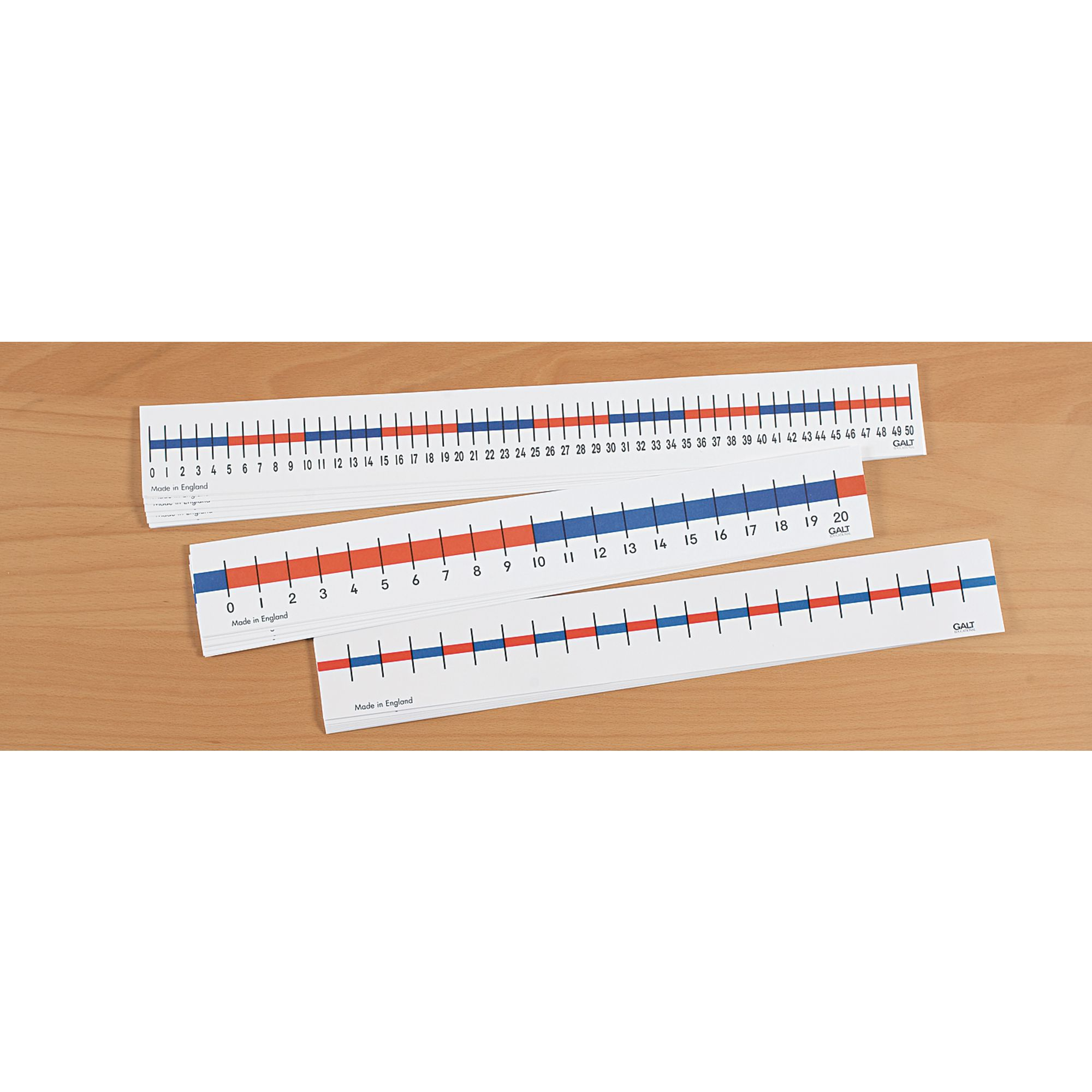 0-50 Table Number Line Pk 10