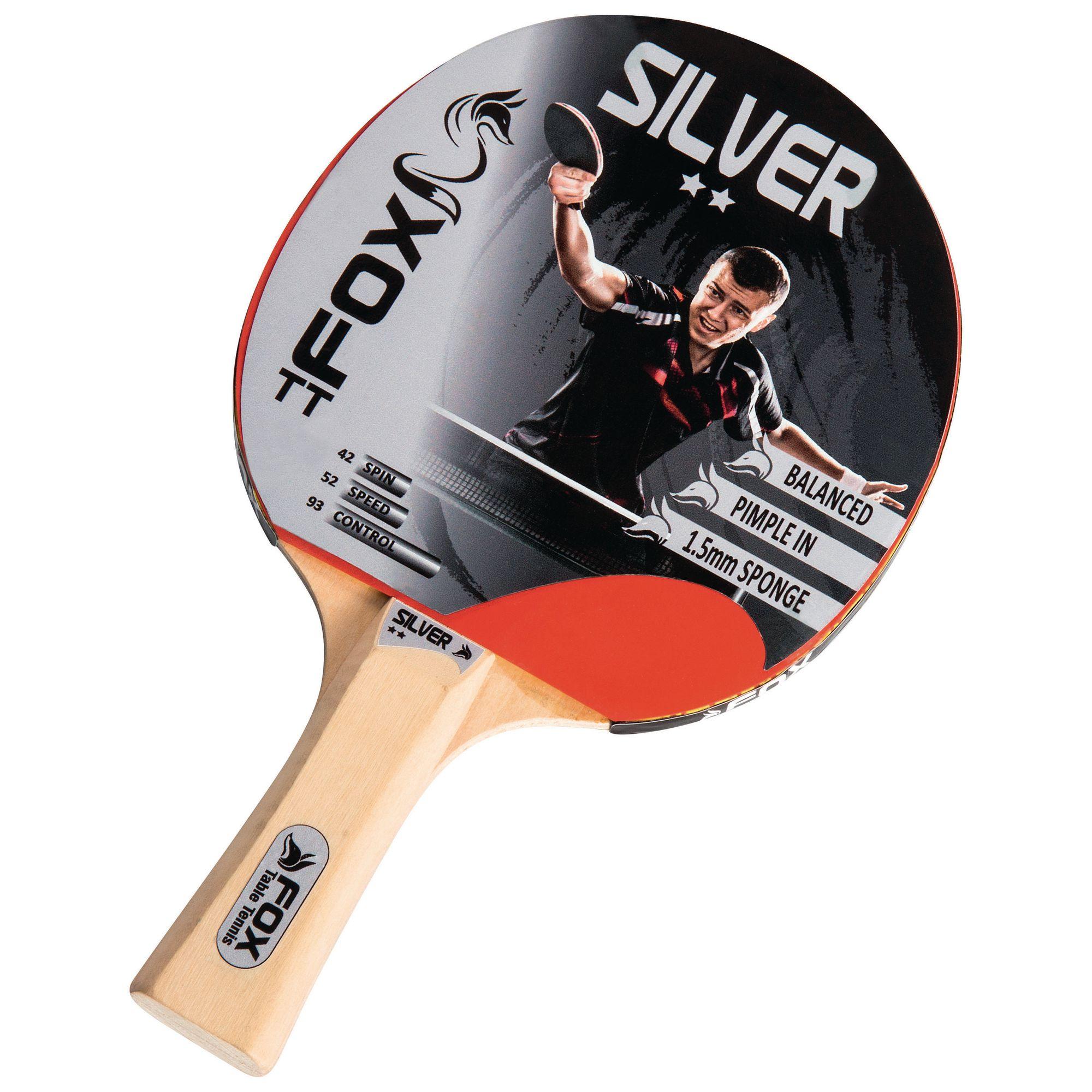Fox Silver 2 Star Table Tennis Bat