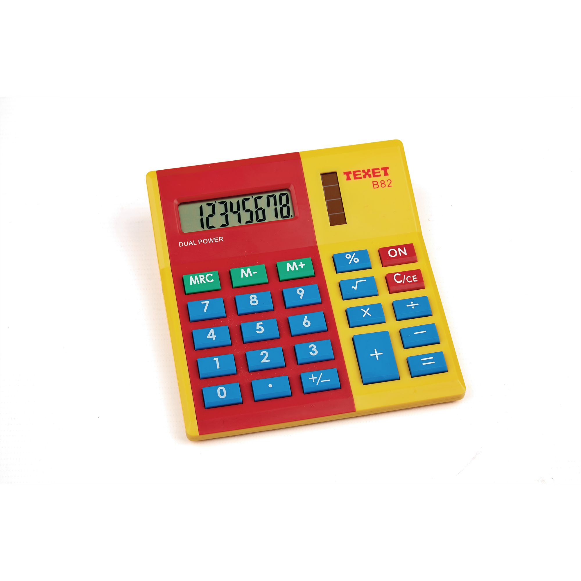 Red/Yellow Coloured Calculator