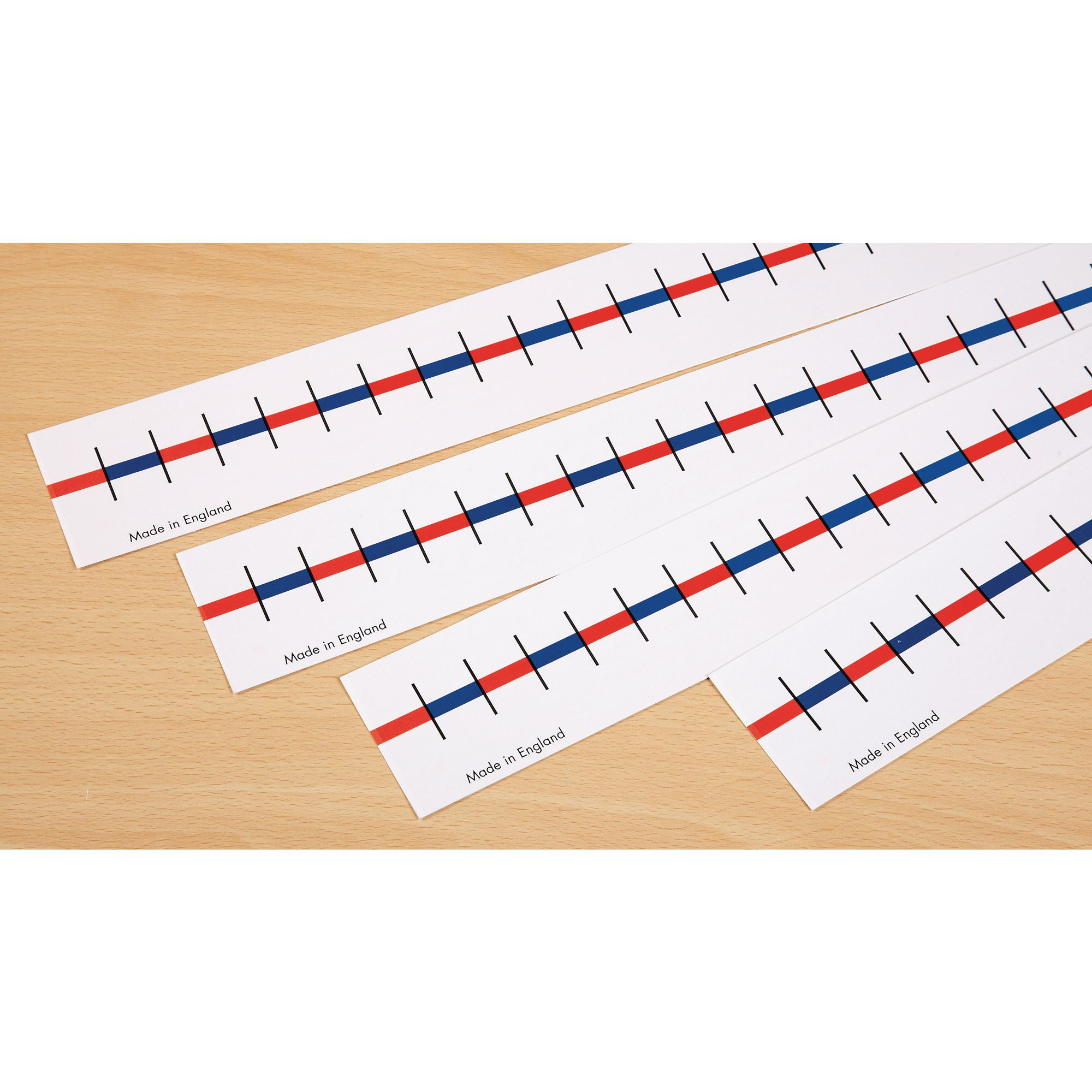 Blank Table Top Number line 0-20 Pk10