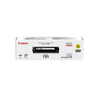 Canon 731 (Yield: 1,500 Pages) Yellow Toner