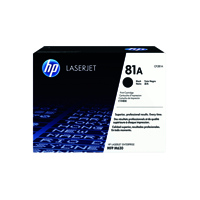 HP 81A (Yield: 10,500 Pages) Black Toner Cartridge