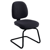 FF Jemini Medium Back Visitor Chair Char