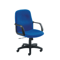 FF Jemini Manager Star Leg Chair Blue