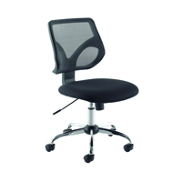 FF Jemini Medium Black Task Chair Black