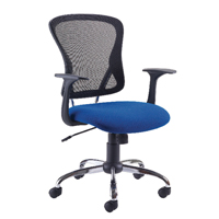 FF Jemini Soho Mesh Chair Black/Blue