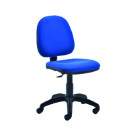 FF Jemini Medium Back Chair Royal Blue