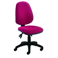 FF Jemini High Back Tilt Op Chair Claret