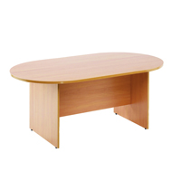FF Arista 1800mm Rect Meeting Table Mpl