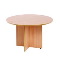 FF Arista Round Meeting Table Beech
