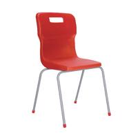 FF DD Titan 4Leg Pp School Chr Size6 Red