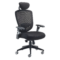 FF Arista Mesh Hb Task Chair H/Rest Blk