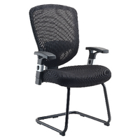 FF Arista Mesh Visitors Chair Black