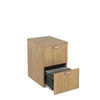 FF Avior 2 Drw Filing Cabinet Ash