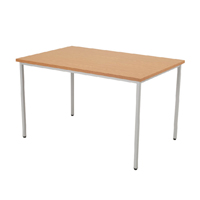 FF Jemini Rectang Table 1200X800mm Oak