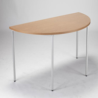 FF Jemini Semi-Circular Table 1600mm Oak