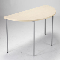 FF Jemini Semi-Circular Table 1600mm Mpl