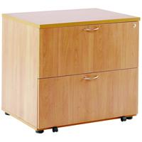 FF Arista Desk High Side Filer Beech