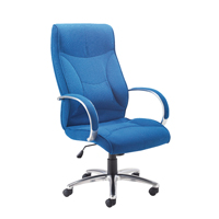 FF Avior High Back Exec Chair Black