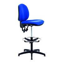 FF Arista Adjust Draughtsman Chair Blue