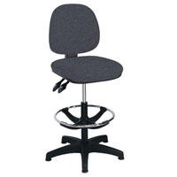 FF Arista Adjust Draughtsman Chair Charc