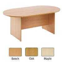 FF Arista 2400mm Boardroom Table Oak