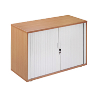 FF Arista Desk High Side Tambour Oak